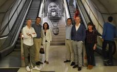 'The Folk Faces' erakusketa inauguratu dute Metro Bilbaon