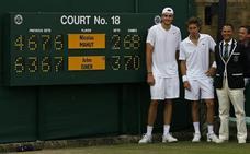 El set más largo de la historia de Wimbledon no lo jugó Nadal