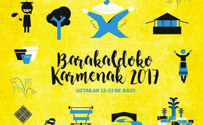 Programación de las fiestas de EL Carmen en Barakaldo