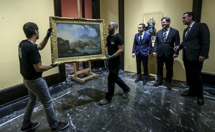 'Vista de Bermeo', nuevo cuadro para el Bellas Artes