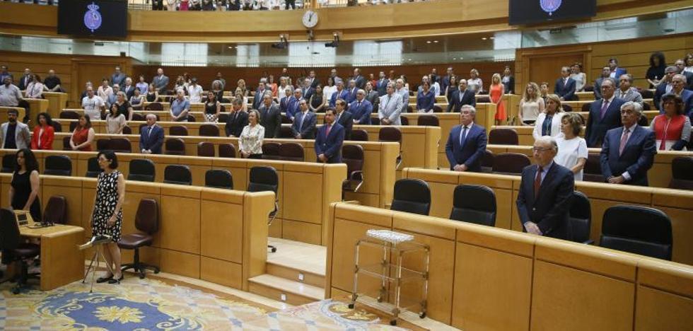 El PNV también rechaza en el Senado la declaración sobre Miguel Ángel Blanco