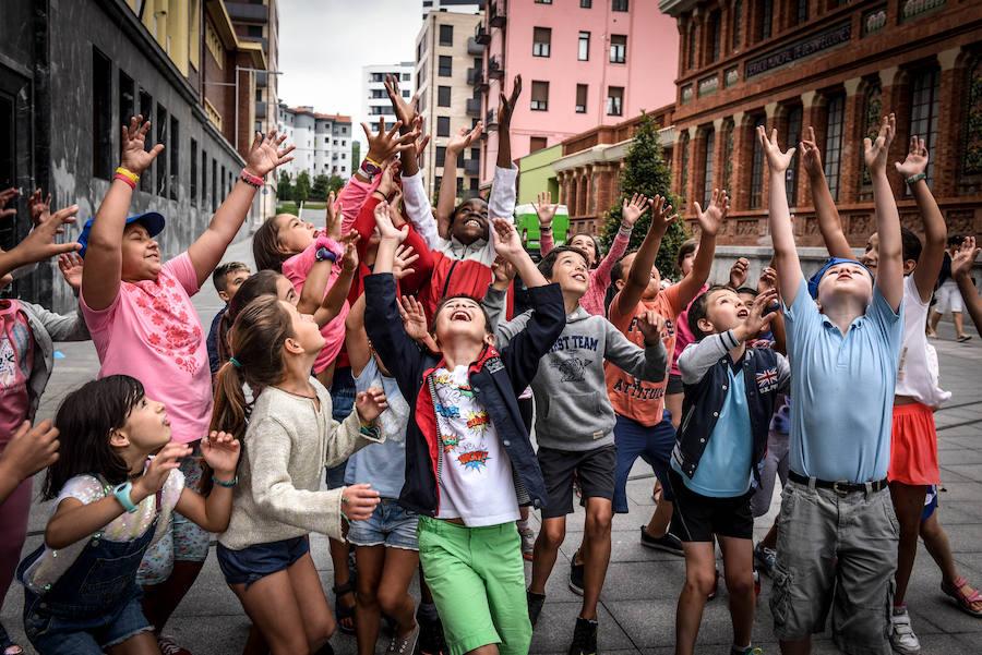 Más de 3.800 niños participarán en las colonias de verano de Bilbao