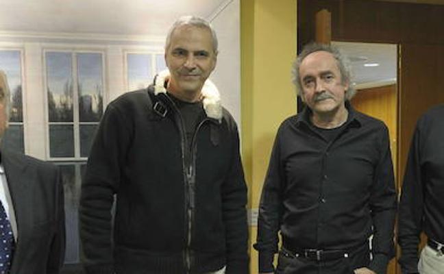 Premian a los artistas de Basauri Koldo Etxebarria y Luis Miguel Gómez