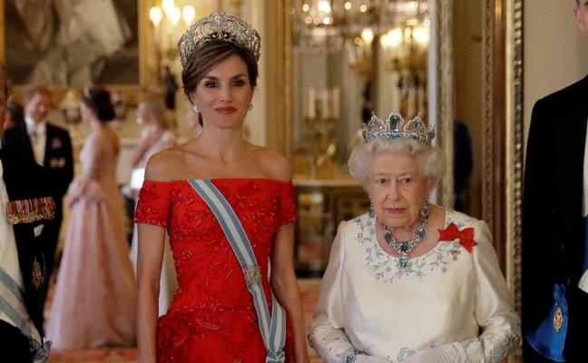 Letizia «deslumbra» en la visita de Estado al Reino Unido
