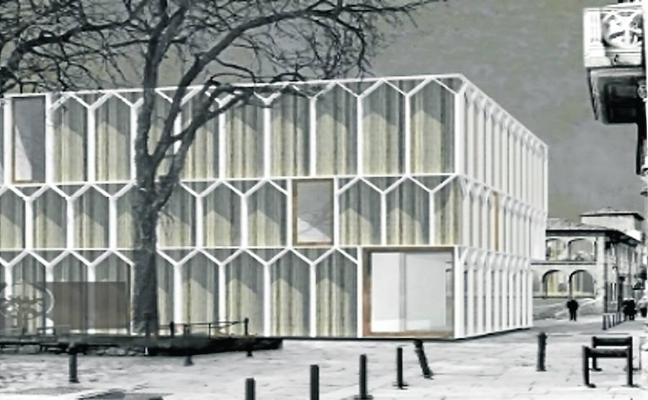 El proyecto elegido para el Gasteiz Antzokia derriba el frontón
