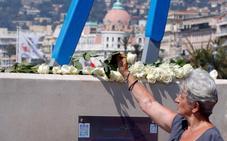 Macron cura las heridas de Niza