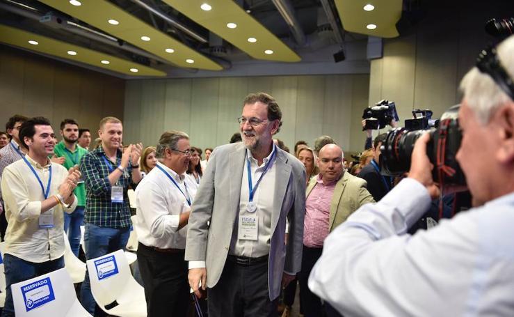 Rajoy participa en las jornadas en recuerdo de Miguel Ángel Blanco en Bilbao