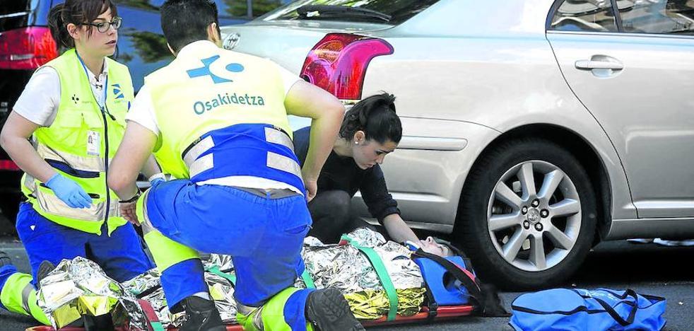 Vitoria registra 186 atropellos en un año, la cifra más alta desde 2009