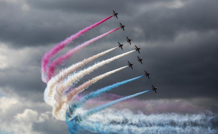 Exhibición de las Fuerzas Aéreas Birtánicas