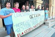 Sindicatos piden la gestión local de la OPE para policías en Getxo
