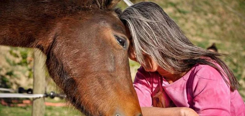 Los caballos que susurran a las mujeres