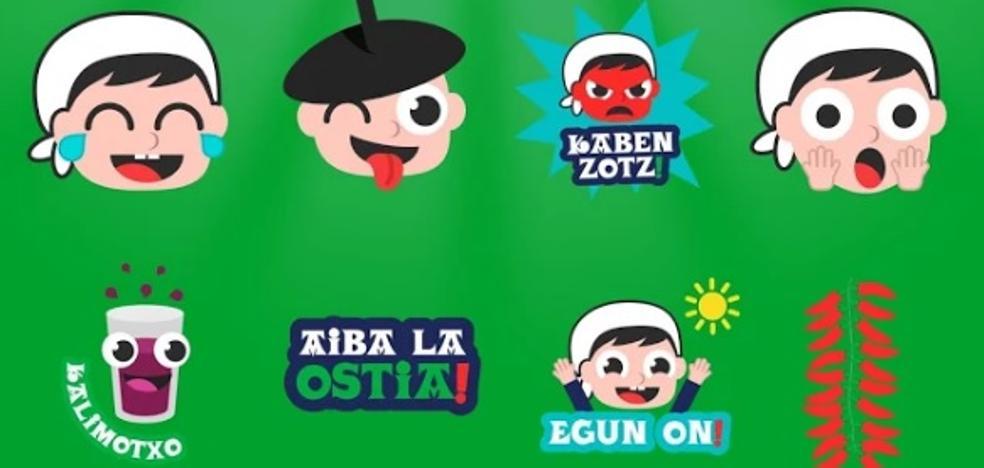 Los emoticonos 'made in Euskadi' llegan a los móviles