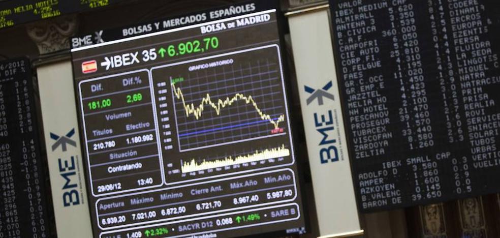 El Ibex-35 cae un 1,19% y salva 'in extremis' los 10.500 puntos