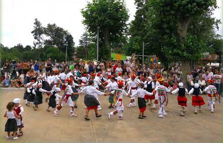 Programa de las fiestas de Berango