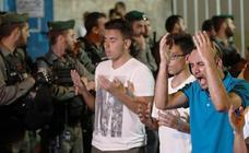 Tensión en Jerusalén por las medidas de seguridad en la Explanada de las Mezquitas
