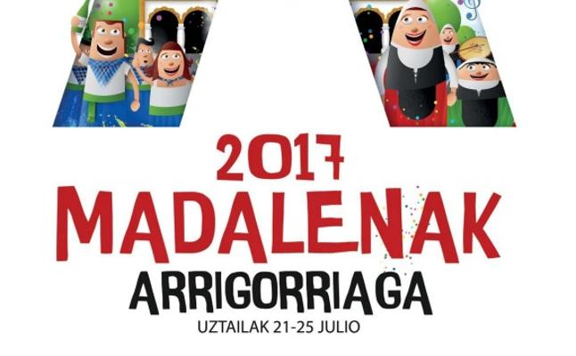 Programa de fiestas Arrigorriaga 'Madalenak'