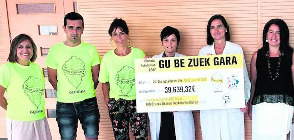 La Cuadri del Hospi dona casi 40.000 euros para investigar el cáncer infantil