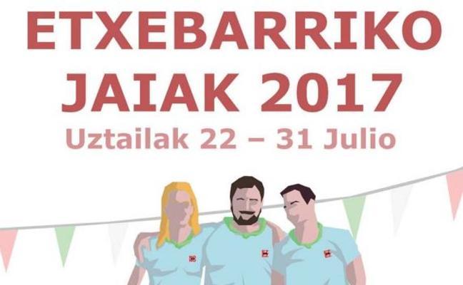 Programa de fiestas de Etxebarri