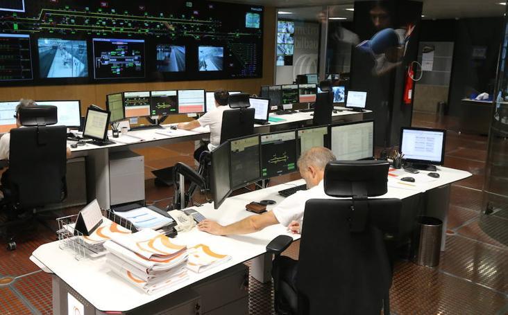 Metro Bilbao contará con un puesto de mando de reserva en 2019