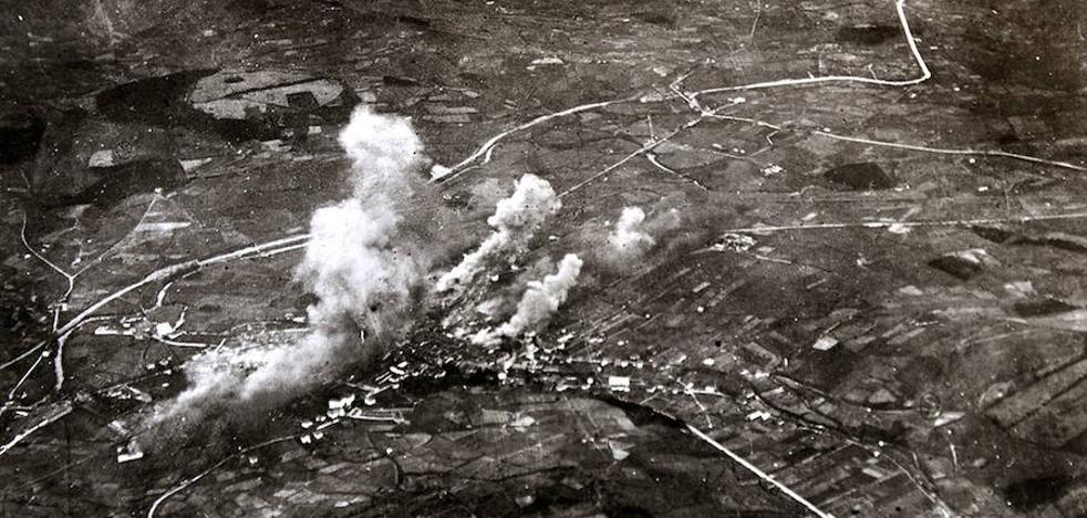 Un juez admite a trámite la querella contra los autores de los bombardeos de Durango de 1937