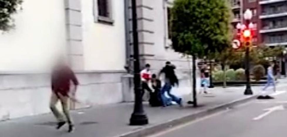 La violencia con la que actúa 'la manada' en Gijón