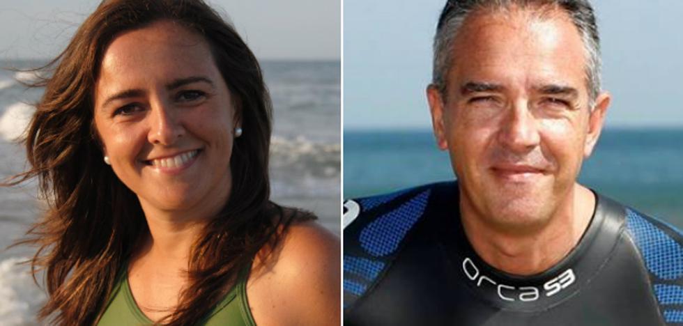 Dos deportistas nadarán los 60 km que separan Bilbao de Santander para recaudar fondos contra el cáncer infantil