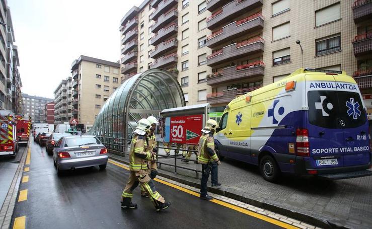 Muere un hombre al ser arrollado en la estación de metro de Santutxu