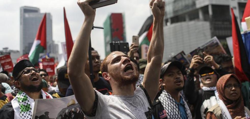 Tres palestinos mueren en enfrentamientos en Cisjordania y Jerusalén