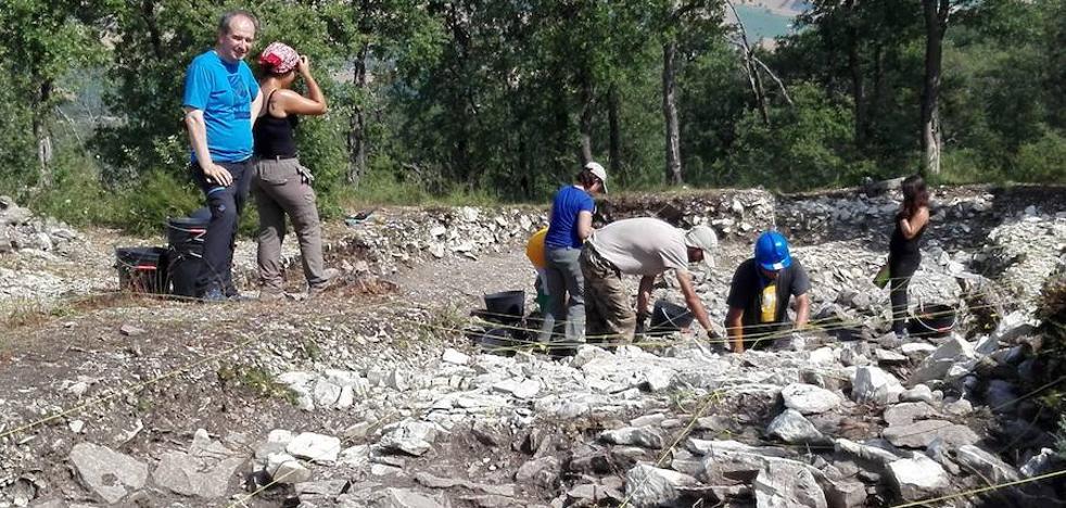 La mina de sílex de Treviño tiene, al menos, 6.000 años de antigüedad
