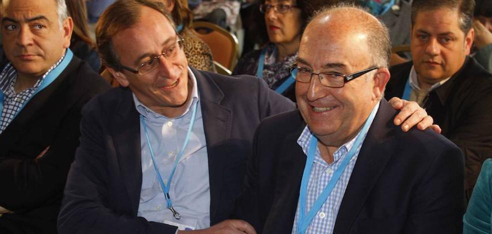El PP vasco elogia a su exdirigente fallecido Santiago Abascal