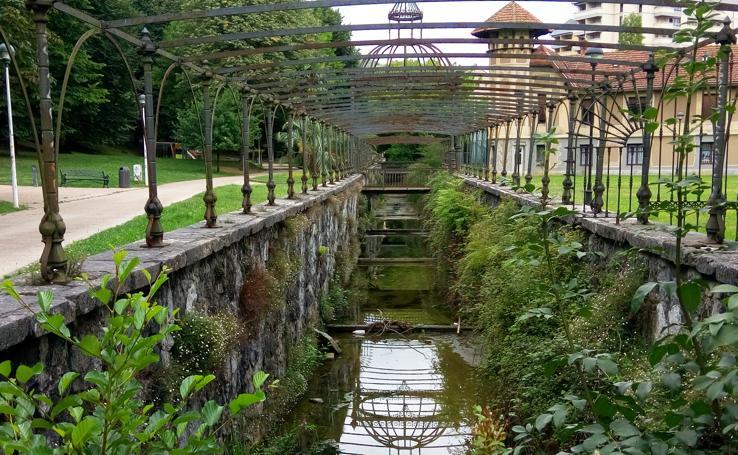 Un paseo por el parque de Llodio