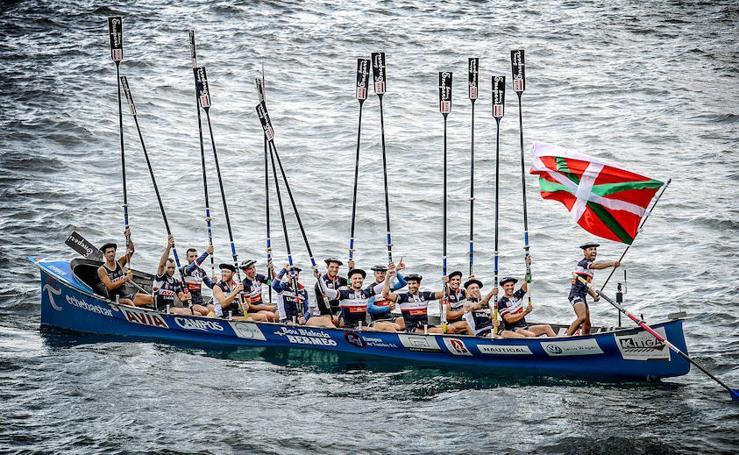 Urdaibai se proclama vencedor en el Campeonato de Euskadi de Remo