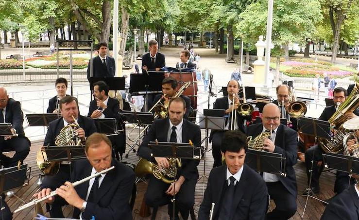 Concierto de la banda de música de Vitoria