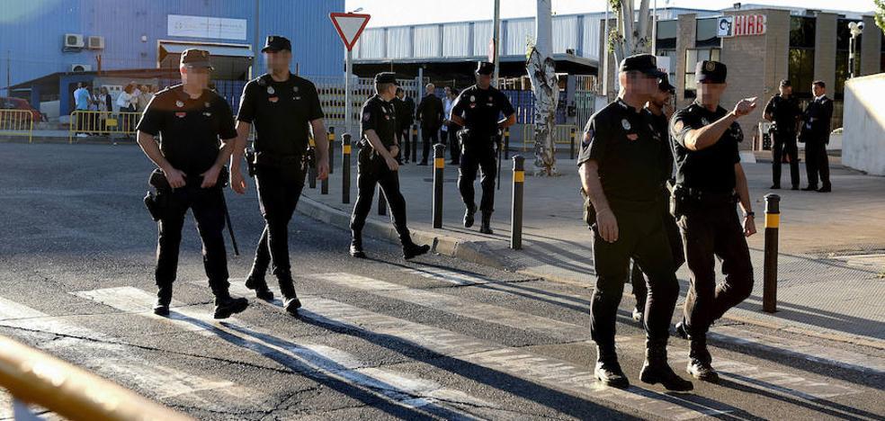Interior despliega 80 antidisturbios para proteger a Rajoy en la Audiencia