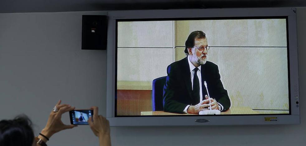 Rajoy ante el tribunal, en diez frases