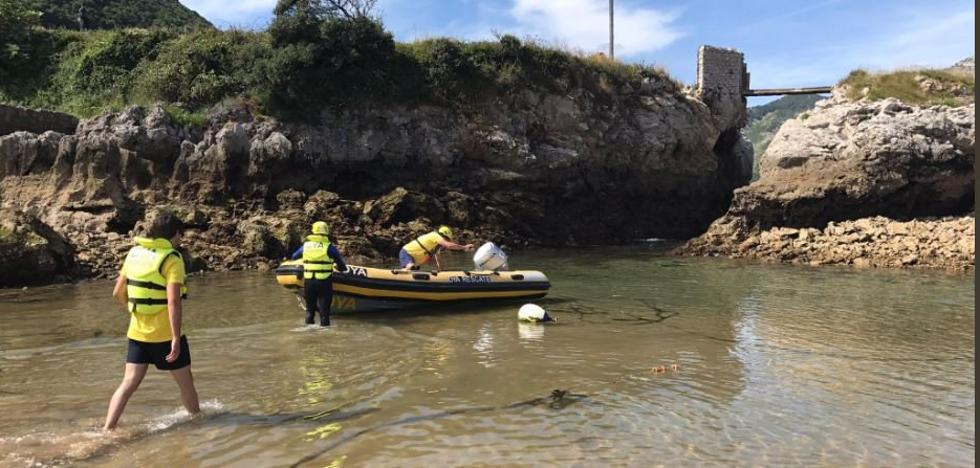 Hallan muerto al bilbaíno de 23 años desaparecido este martes en Islares cuando buceaba
