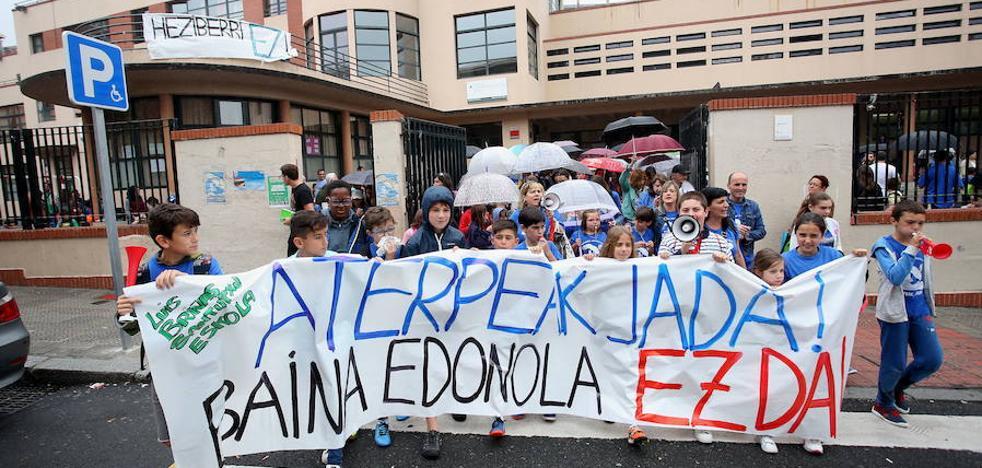 El PP de Bilbao pide al PNV que cumpla «su compromiso» con el colegio Luis Briñas de Santutxu