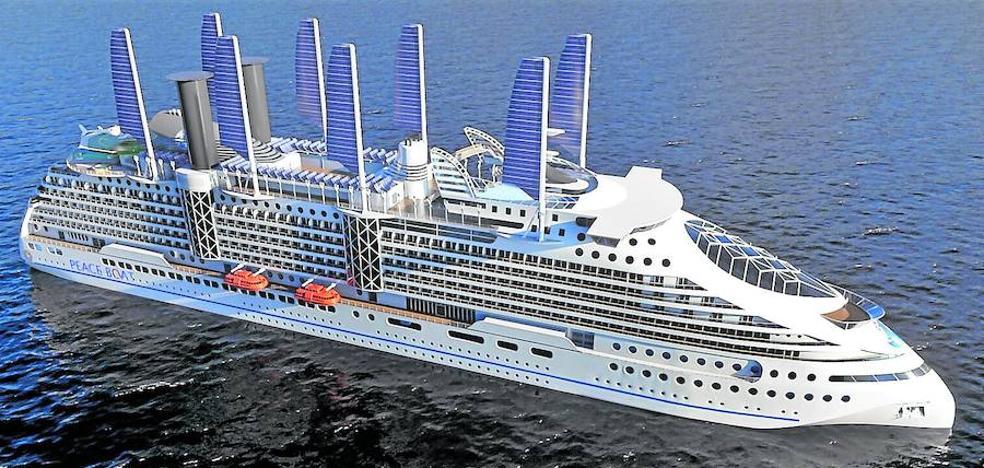 Una empresa de Getxo diseña un crucero ecológico para una ONG candidata al Nobel