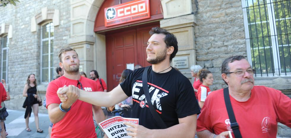Los socorristas desconvocan la huelga de piscinas en Vitoria