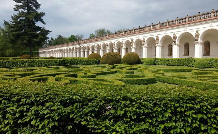 El Palacio de Kromeriz y sus jardines
