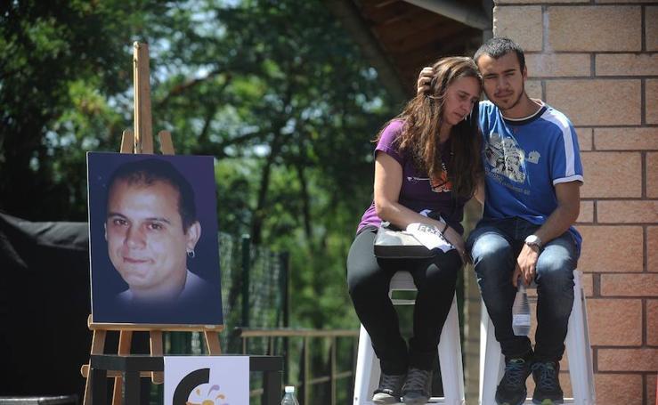 Así ha sido el homenaje el preso de ETA Kepa del Hoyo