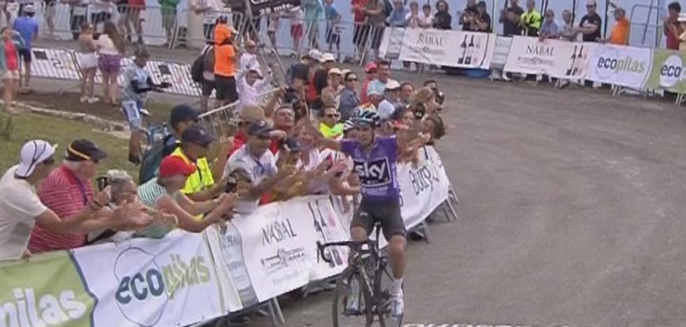 Mikel Landa no tiene rival en la Vuelta a Burgos