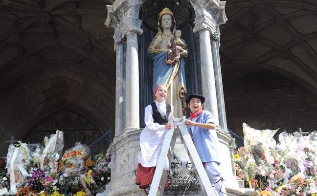 La Blanca 7 de agosto: El día de los txikis