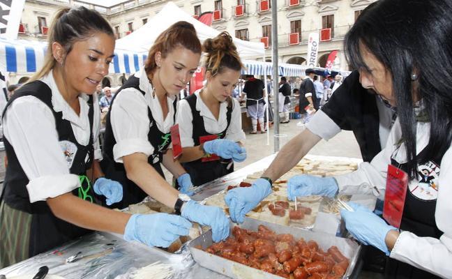 Concurso gastronómico de cuadrillas de blusas