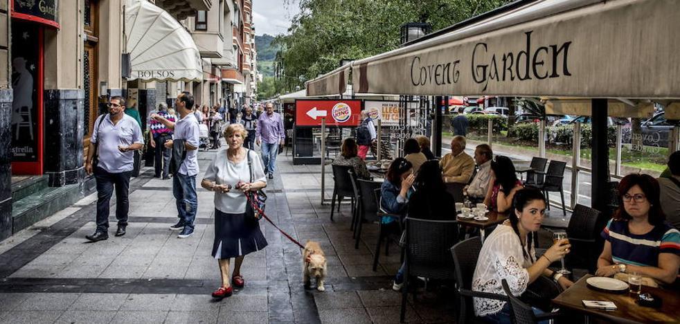Bilbao reordenará las terrazas: ya hay 567 en el centro y el Casco Viejo