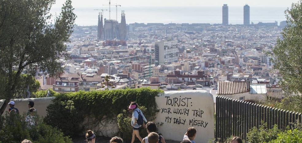 La prensa extranjera alerta contra la 'turismofobia' en España