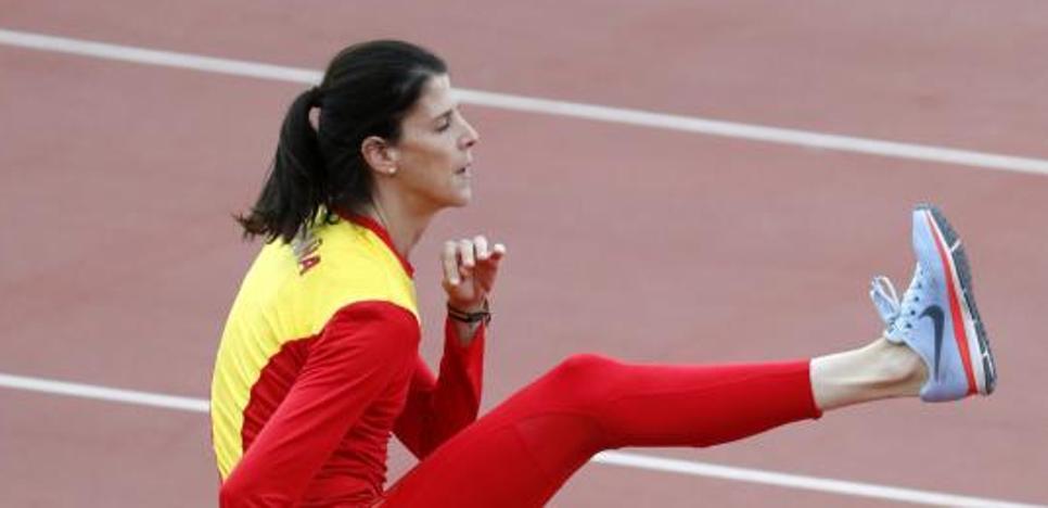 Ruth Beitia, la penúltima opción de medalla para España en Londres