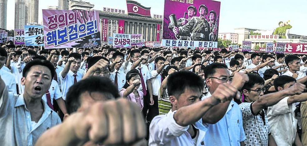 Tensión prebélica con Corea del Norte