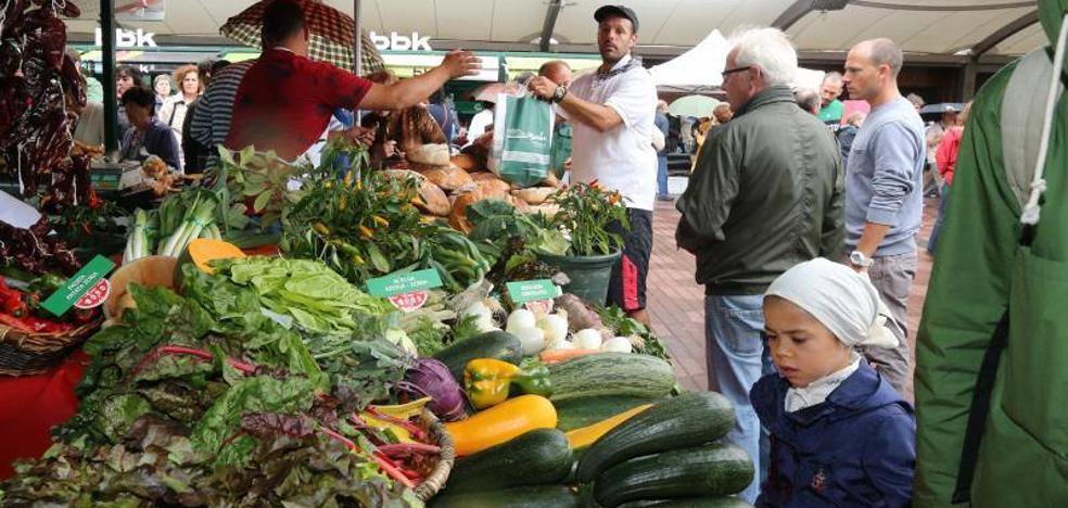 Productos de caserío para llenar el mercado de San Lorenzo