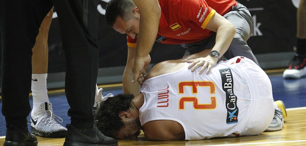 Llull se rompe el cruzado y se pierde el Eurobasket